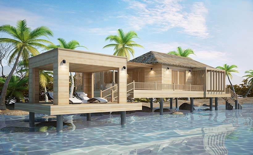 Overwater Bungalow Design Lab Architects